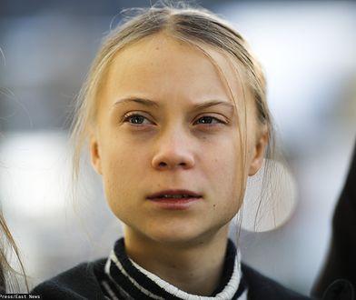 Szwedzka aktywistka klimatyczna Greta Thunberg. 24 stycznia 2020 r., Szwajcaria