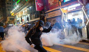 Hongkong. Protesty na ulicach chińskiej prowincji