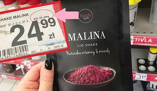 Niektóre produkty Anny Lewandowskiej kosztują krocie. Np. 1 kg liofilizowanych malin kosztuje prawie 500 zł.