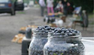 Ceny jagód leśnych wyjątkowo wysokie. Sprzedawcy bezradnie rozkładają ręce: pogoda i 500+