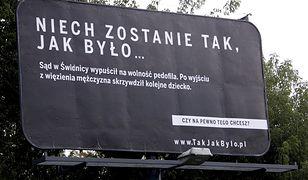Kampania billboardowa rządu
