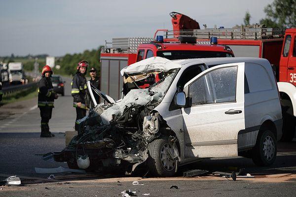 Tragiczny wypadek w Rząsawie