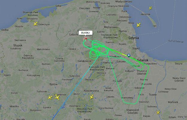 Samolot Lufthansy nie mógł wylądować w Gdańsku. Poleciał na lotnisko zapasowe do Warszawy
