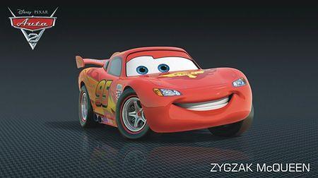Auta 2 - pościg (fragment filmu)
