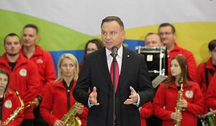 Andrzej Duda w Nowym Mieście Lubawskim: stary układ trzyma się mocno