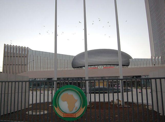 Siedziba główna Unii Afrykańskiej w Addis Abeba