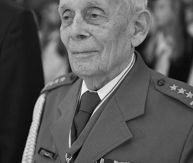 Nie żyje żołnierz AK gen. Tadeusz Bieńkowicz. Miał 96 lat