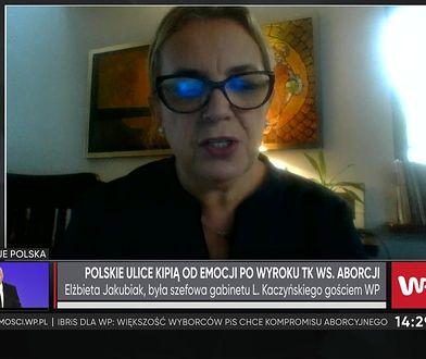 """Strajk kobiet. Była szefowa gabinetu Jarosława Kaczyńskiego: """"był w szoku kulturowym"""""""