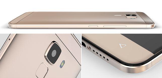 Metalowy smartfon z czytnikiem biometrycznym za 349 zł