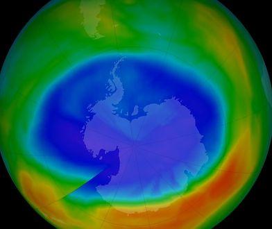 Dziura ozonowa może całkowicie zniknąć około 2060 roku
