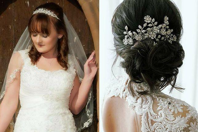 Wśród fryzur ślubnych na średnich włosach coś dla siebie znajdą zarówno zwolenniczki luźno opadających kosmyków, jak i miłośniczki upięć