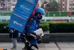 Kurierów czeka futurystyczna rewolucja. Chińczycy testują egzoszkielety