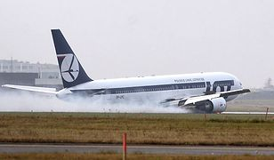 Awaryjne lądowanie Boeinga 767