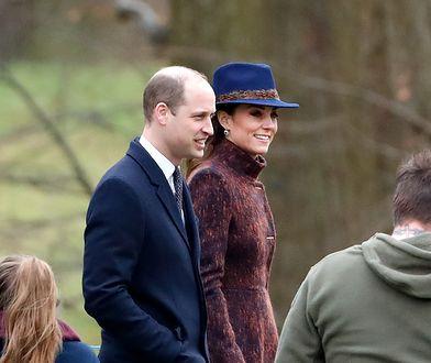 Kate, William i Rose pojawili się na tej samej mszy