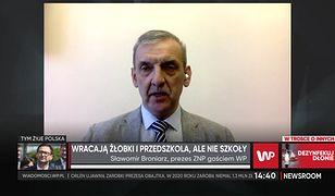 Sławomir Broniarz o powrocie do szkół. Uzależnia go od szczepień