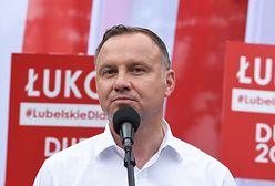 Znieważyła Andrzeja Dudę, wygrała proces. Policja w kropce