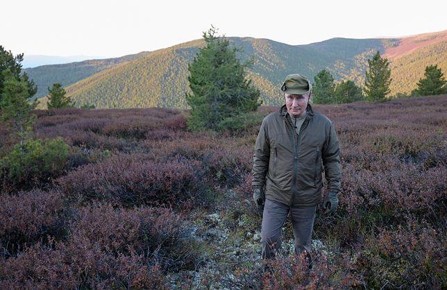 Władymir Putin spędził wakacje na Syberii. Co robił prezydent Rosji?