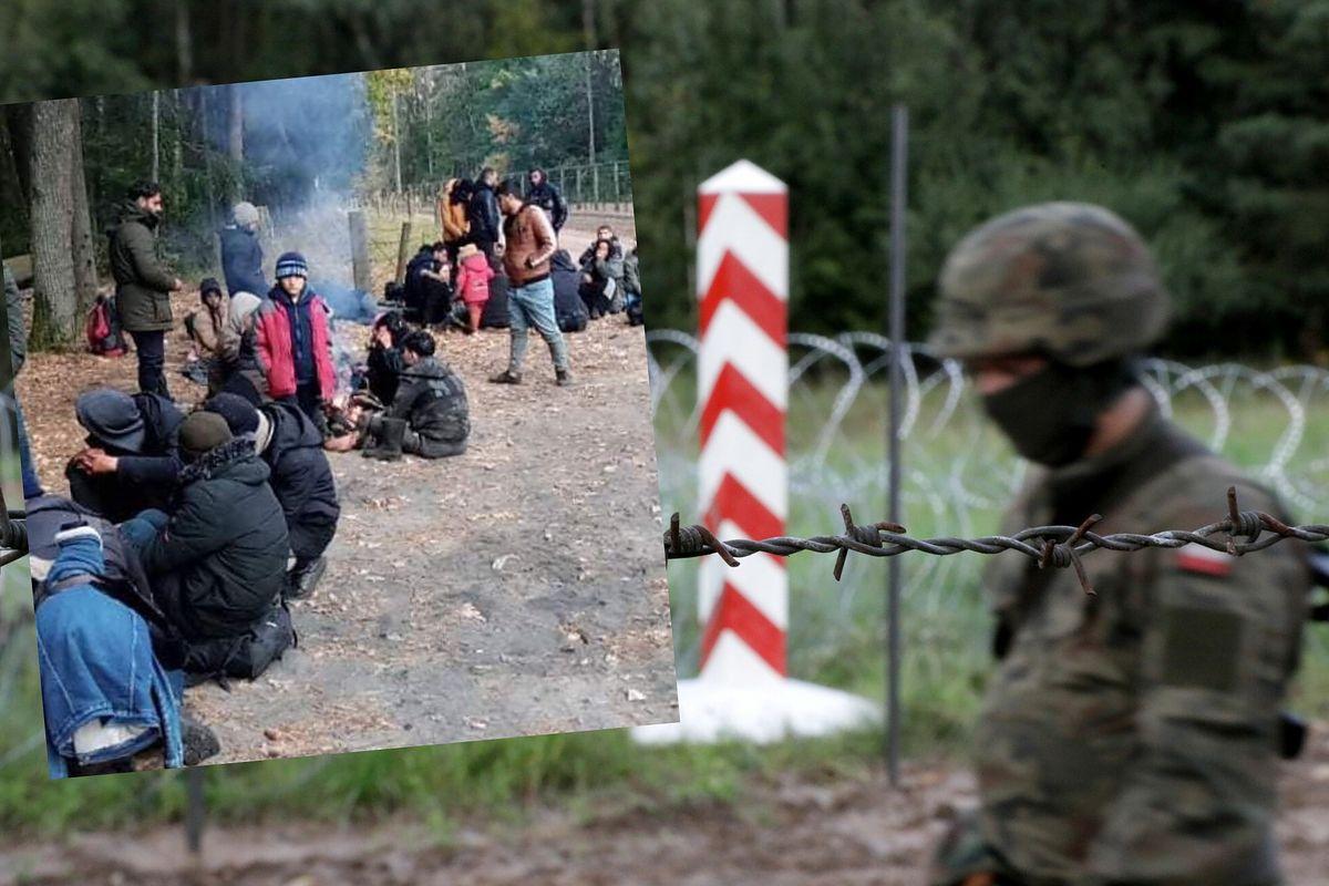 Stan wyjątkowy na granicy z Białorusią. Migranci zorientowali się, że są więźniami Łukaszenki. Chcą wrócić do Iraku