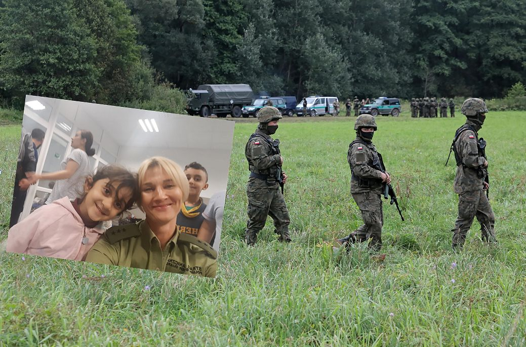 Iracka rodzina wypchnięta z Polski? Straż graniczna publikuje nowe zdjęcia