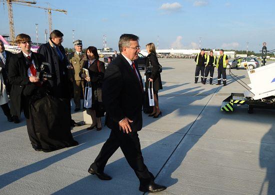 Prezydent będzie latał do pałacu helikopterem