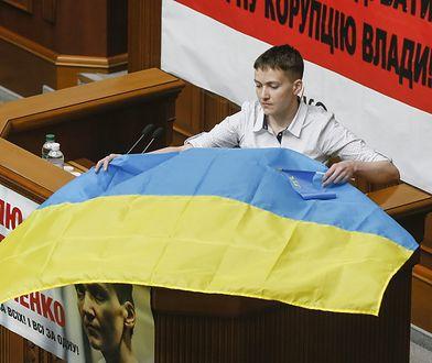 Nadija Sawczenko w ukraińskim parlamencie