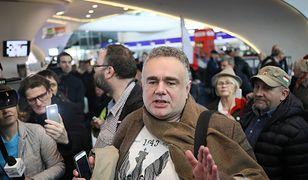 """Redaktor naczelny """"Gazety Polskiej"""" Tomasz Sakiewicz"""