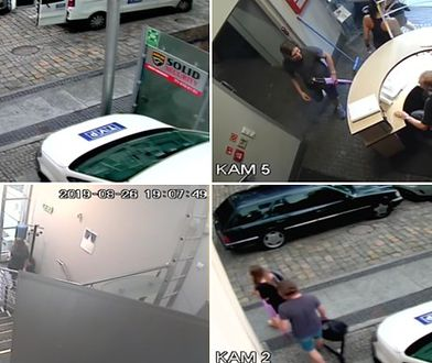 Zdjęcia z monitoringu TVP Opole