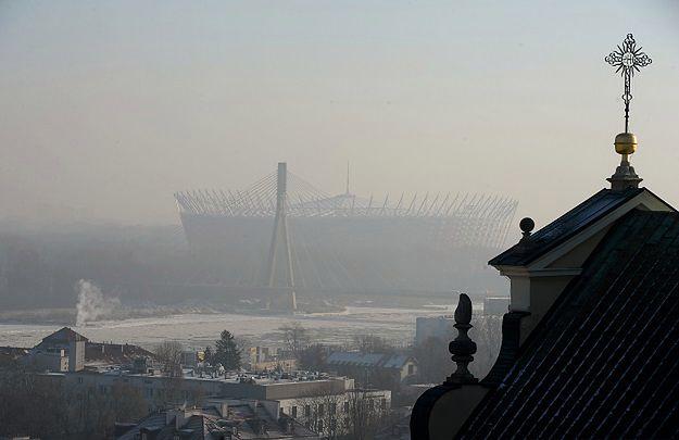 Poziom zanieczyszczeń w Warszawie najwyższy od 2005 r.