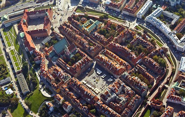 Gra miejska w Warszawie