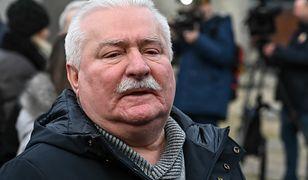 Odmrażanie gospodarki. Prezydent Lech Wałęsa chwali się wizytą fryzjera
