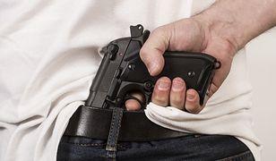 Na broń, którą posiadał zatrzymany mężczyzna, nie jest wymagane pozwolenie