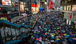 Mieszkańcy Hongkongu protestują. Zostało im niewiele czasu przed wielką rewolucją