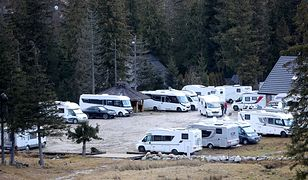 Sylwester w górach możliwy. W Zakopanem kamper na kamperze