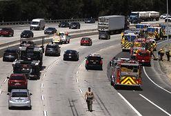 Los Angeles. Awaryjnie lądowanie samolotu na autostradzie. Na pokładzie były dwie osoby