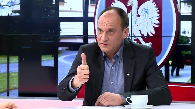 Paweł Kukiz jest oburzony przyzwoleniem Ukrainy na czczenie formacji SS Galizien przez jej obywateli