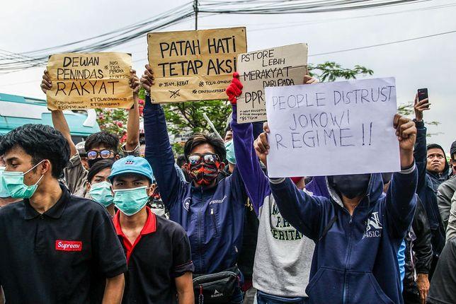 Protesty w Indonezji
