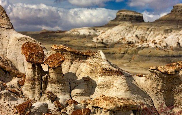 Bajeczne skalne kominy