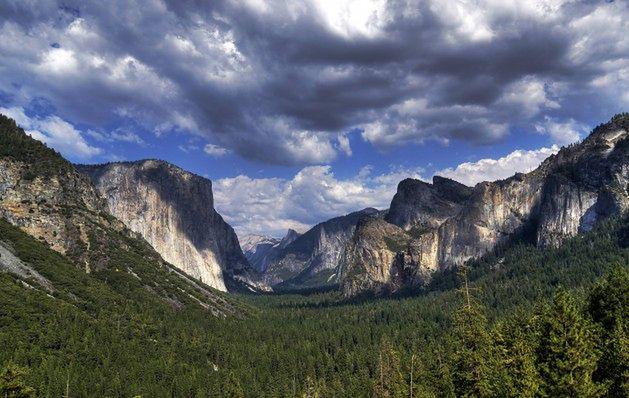 Wodospad Horsetail, Park Narodowy Yosemite, USA