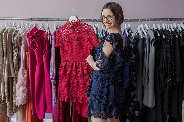 Kinga Kośnik prowadzi największą w Polsce wymienialnię luksusowych sukienek