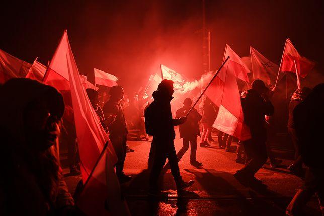 Marsz Niepodległości w ubiegłym roku.