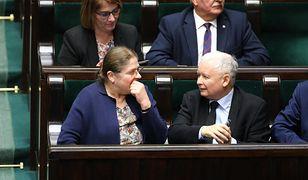 Za decyzją o wysłaniu Krystyny Pawłowicz na emeryturę ma stać Jarosław Kaczyński