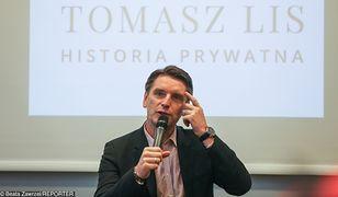 Tomasz Lis promuje swoją nową książkę