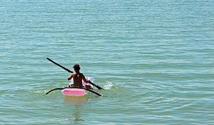 Jezioro Jezuickie. Mężczyzna spadł z materaca i utonął. (fot. ilustracyjne)