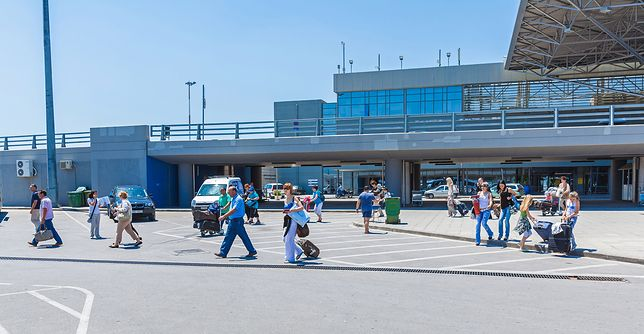 Terminal lotniska w Saloniki-Macedonia