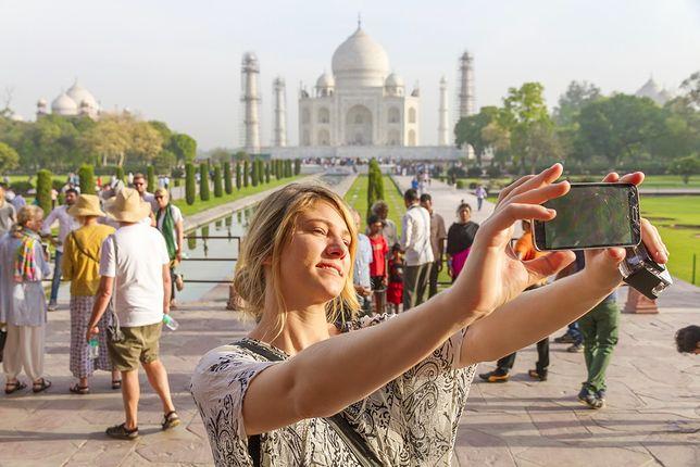Tadż Mahal - jeden z symboli Indii - jest coraz rzadziej odwiedzany przez turystów