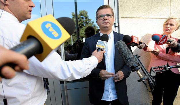 Latkowski: Durczok w pozwie nie zaprzecza molestowaniu