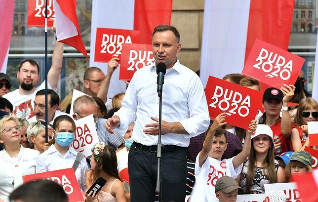 """Wybory 2020. Andrzej Duda ostro krytykowany w Niemczech za słowa o """"Die Welt"""""""