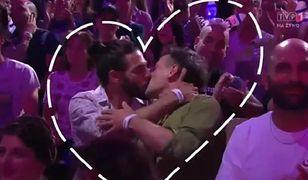 Podczas występu Dana International pary zaczęły się całować
