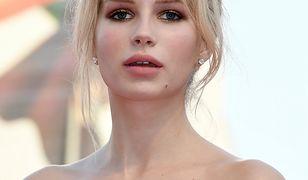 Lottie Moss, podobnie jak jej przyrodnia siostra, też jest modelką