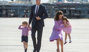 Księżniczka Charlotte dostała ataku złości na lotnisku